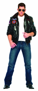 Men's Top Gun Bomber Jacket Costume