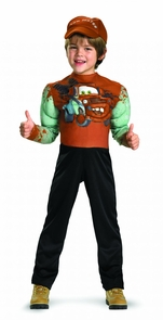 Tow Mater Muscle 3t-4t Costume