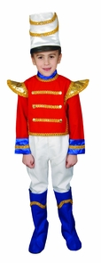 Toy Soldier Child 8 To 10 Costume
