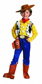 Boy's Woody Deluxe Costume - Toy Story Costume