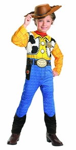 Toy Story Woody Std 4 To 6 Costume