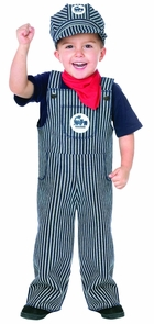 Train Engineer Toddler 2t Costume