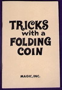 Tricks With A Folding Coin Costume