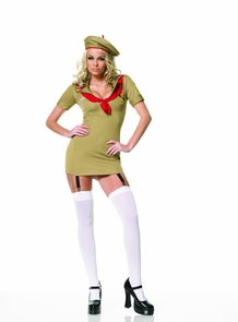 Trooper Girl Dress Large Costume