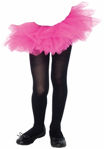 Tutu Organza Child Fuschia Costume