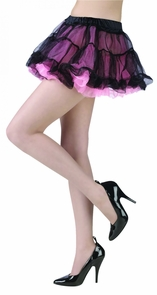 Tutu Skirt Black/pink Costume