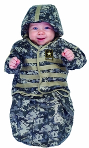U.s. Army Bunting Infant (0-6) Costume
