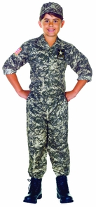U.s. Army Camo Set Child (6-8) Costume