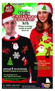 Ugly Sweater Kit Costume