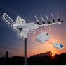 UHF VHF FM Amplified Outdoor FREEDOM TV Antenna Remote Controlled