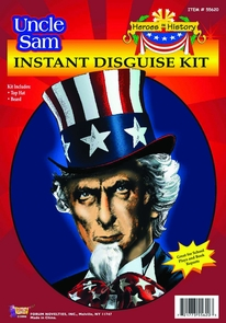 Uncle Sam Heroes In History Costume