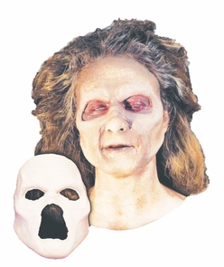 Undead Zombie Foam Latex Face Costume
