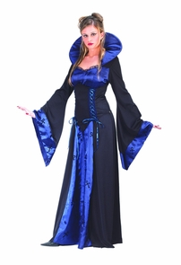 Vampiress Blue Med Lrg Costume