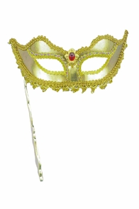 Ven Mask Stick Gold Costume
