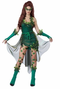 vicious vixen sm med 4 8 poison ivy style costume. Black Bedroom Furniture Sets. Home Design Ideas