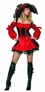 Women's Vixen Pirate Wench Costume