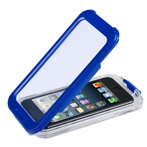Waterproof Protective Skin Case Cover for iPhone 4/4S/5 Blue
