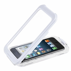 Waterproof Protective Skin Case Cover for iPhone 4/4S/5 White
