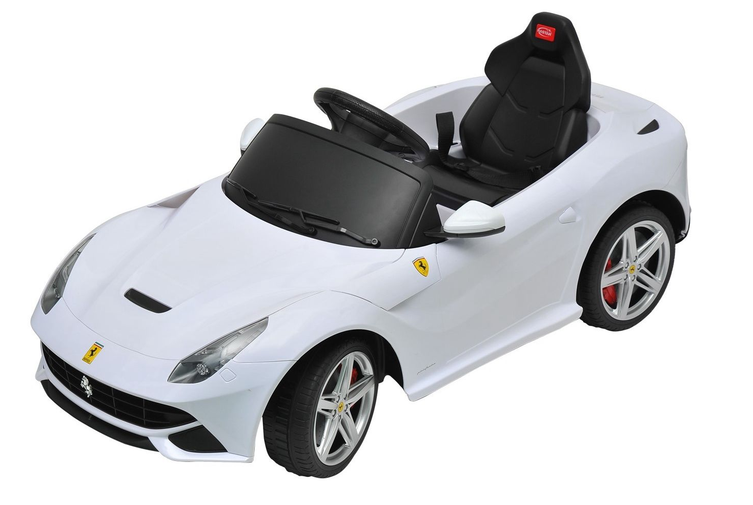 magic cars ferrari ride on battery powered rc car wkeys mat