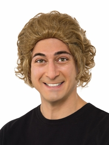 Willy Wonka Wig Adult Costume