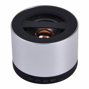 Wireless Rechargeable Loud Mini TF Bluetooth Speaker Silver