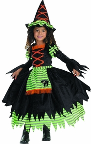 Witch Storybook Sz 3t To 4t Costume
