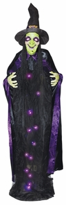 Witch W/sound 6ft Lightup Hang Costume
