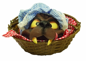 Wolf Head In A Basket Costume