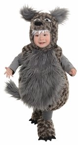 Wolf Toddler Xl 4-6 Costume