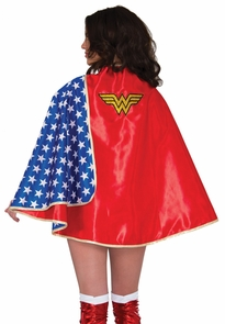 Wonder Woman Adult Cape Dlx Costume