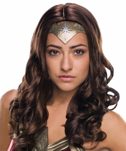 Wonder Woman Dlx Adult Wig Costume