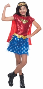 Wonder Woman Tutu Child Small Costume