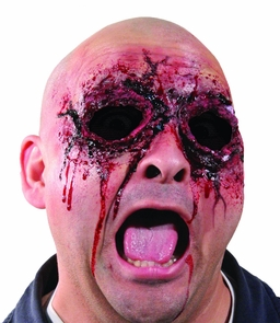Woochie See No Evil Ripped Eyes Costume