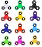 Yellow Fidget Spinner Original Toy On Sale Buy Today