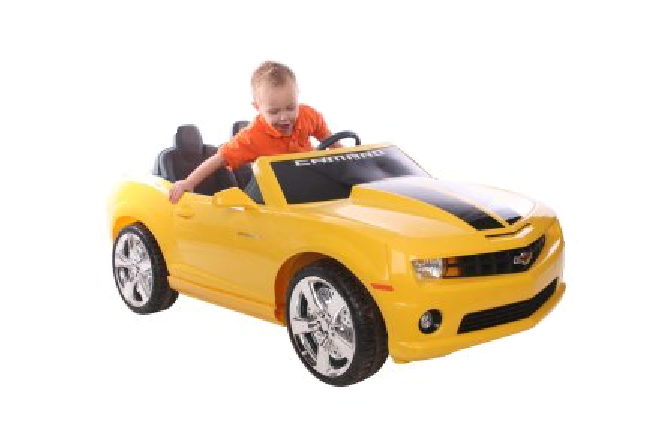 Bumblebee 2 Seat Yellow Ride On Camaro Car Like Transformers