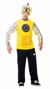Yo Gabba Gabba Plex Male Md Costume