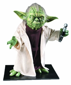Collector's Edition Life Size Yoda Statue - Star Wars Classic Costume