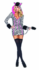 Zebra Savannah Large 12-14 Costume