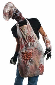 Zombie Butch Adult Apron Costume