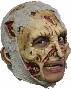 Zombie Dlx Chinless Adult Mask Costume