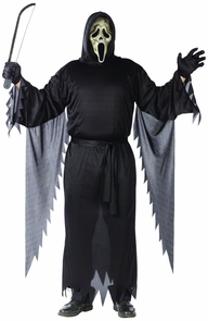 Zombie Ghost Face Adult Plus Costume