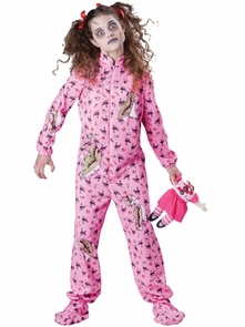 Zombie Girl Tweens 10-12 Costume