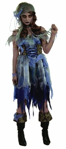 Zombie Pirate Female Costume