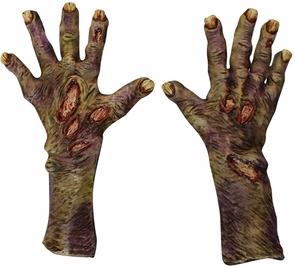 Zombie Rotted Large Latex Glov Costume