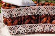 "1 1/8"" Natural Lace Trim #lace-138"