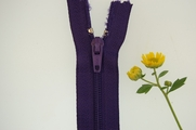 "10"" Purple Zipper"