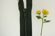 "16"" Forest Green Zipper"