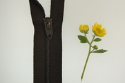 "17"" Black Zipper"