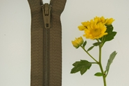 "19"" Dark Sage Green Zipper"