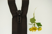"28"" Black Separating Zipper"